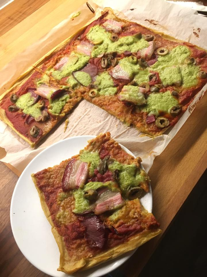 pizza od plantana